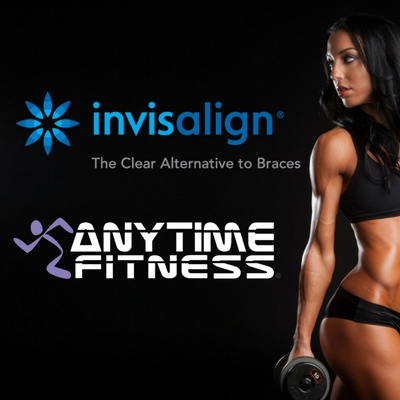 Transform. Completely. With Invisalign & Anytime Fitness!